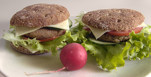 Bioburger - Fastfood lecker selbstgemacht