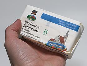 Biobutter - Testsieger beim Kassensturz