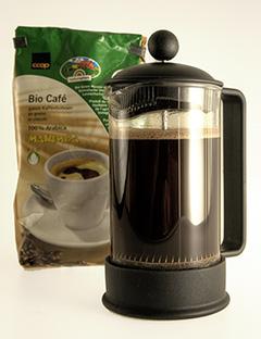 Biokaffee aus der Frenchpress - ein Genuss!